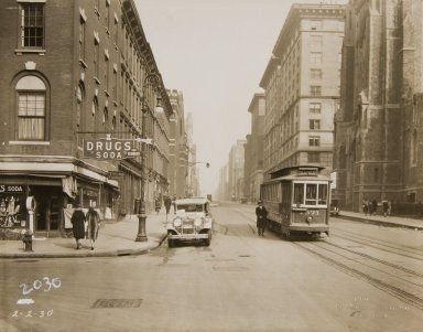 Church Avenue Trolley 2/2/1930