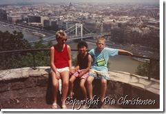 Donau i Budapest