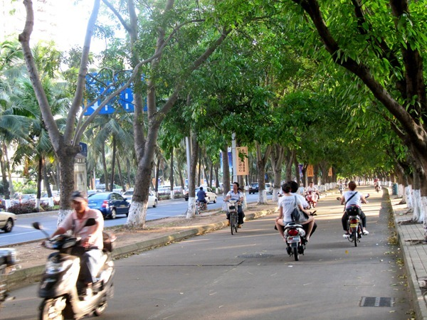 China bike lane