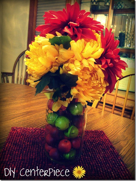 diy centerpiece