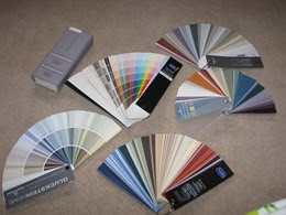 Benjamin Moore Colour Fan _ DownshiftingPRO #MyBenjaminMooreHome