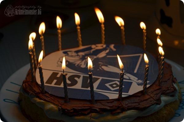 16. Geburtstag Dennis - Geburtstagskuchen