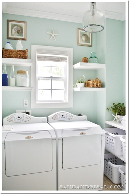 Sand and Sisal: Laundry Room Makeover