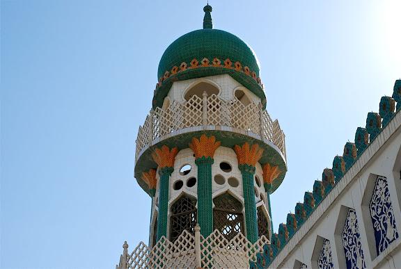 Hami - Tour principale mosquée tombeau des rois Hui
