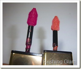 YSL Glossy Stain No. 6 and No. 14 (4)