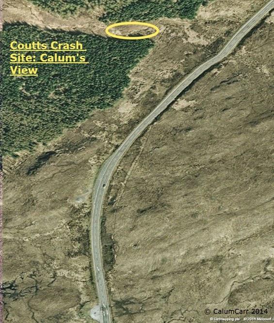 Coutts Crash Site Calums View A