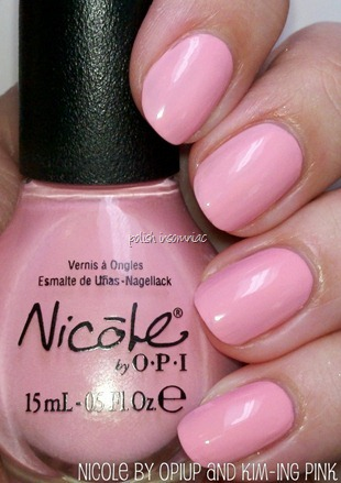 Nicole by OPI Up and Kim-ing Pink