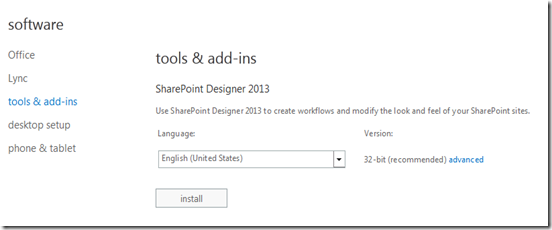 Office 365 Sharepoint Designer Ciaops Disabling Sharepoint Designer Access In Office 365