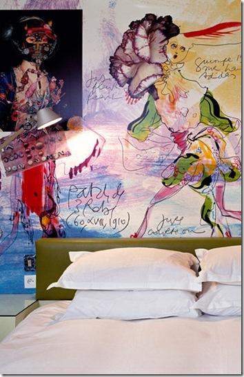 Paris Hotel du Petit Moulin Christian Lacroix