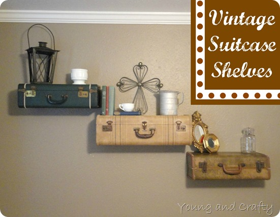 Suitcase shelf 7