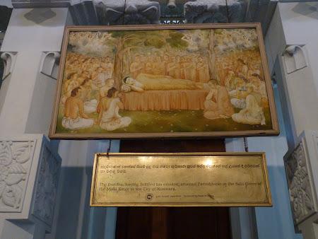 Imagini Sri Lanka: moartea lui Buda.