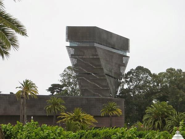 在Golden Gate Park 裡的 De Young Museum