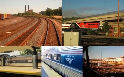 Trains trainyards
