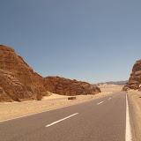 En stop avec une famille de français depuis Ste Catherine (dans le Sinaï) jusquà Nuweiba (au bord de la mer rouge)