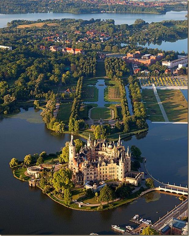 O Palácio de Schwerin
