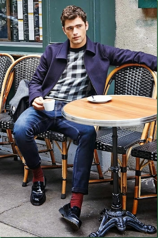 Lookbook: Sean O'Pry poses for Next Winter 2014 – Part II