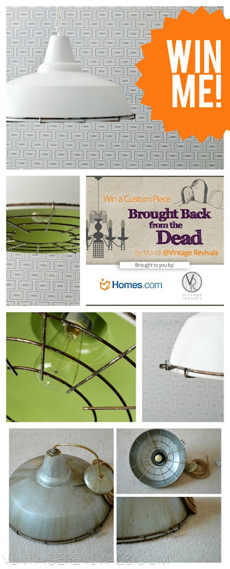 Industrial Light Giveaway @ Vintage Revivals