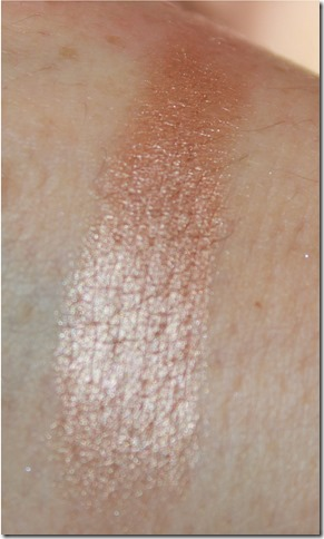 B&K Brown Sugar eyeshadow swatch