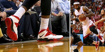 nike zoom soldier 7 pe timeline 140408 shoe soldier7 heathome King James and His 26 Different Nike Zoom Soldier VIIs in 2013 14