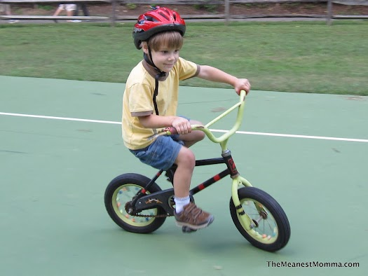 Look Ma, No Training Wheels!