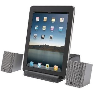 iHome iDM15 Portable Bluetooth Speakers for iTouch, iPod & Tablets