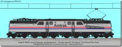 Amtrak PhIII gg1
