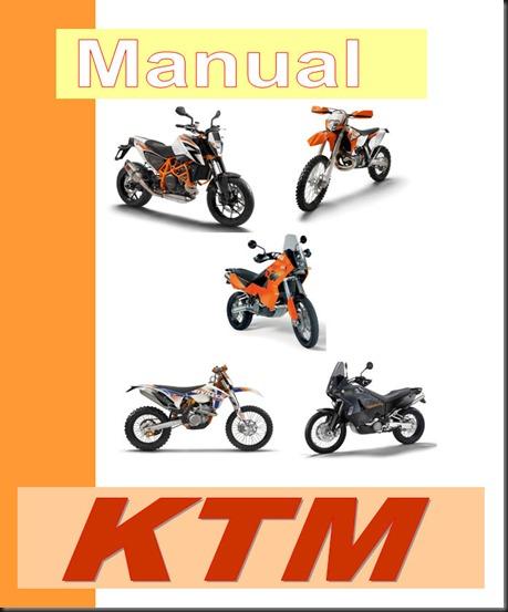 Manual de taller, servicio y despiece para motos KTM ademas incluye ...
