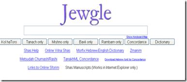 Jewgle_motor de cautare