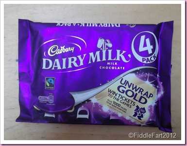 Tesco cadbury Dairy Milk