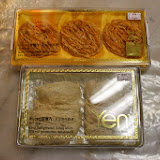 Photo 1: Packaged edible bird's nests sold in a shop in Kuching. The top bird's nest is priced at RM 428, whilethe lower bird's nest is RM 598.