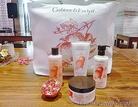 CRABTREE & EVELYN POMEGRANATE, ARGAN & GRAPESEED Hand & Body Collection Singapore