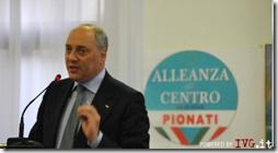 Francesco Pionati, segretario Nazionale dell' Alleanza di Centro