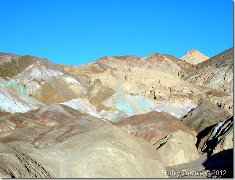 Artists Palette at Death Valley NP