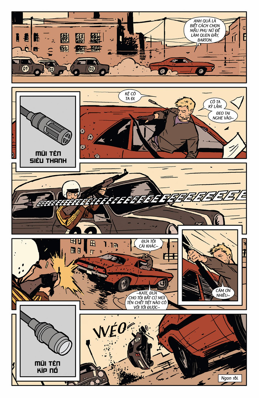 Hawkeye 2012 chap 3 - Trang 16