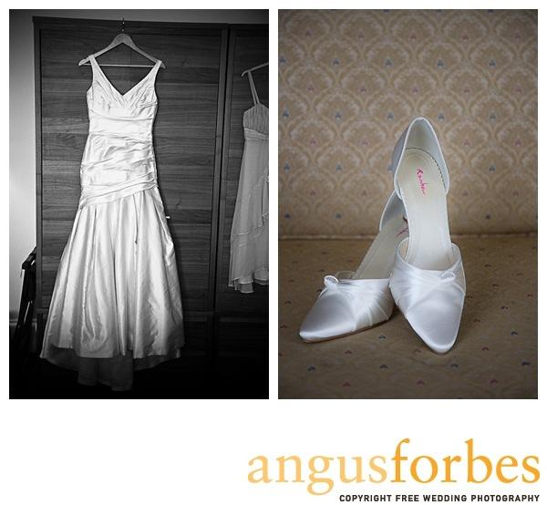 Bridal shoes Scottish wedding Photographer Dundee_028
