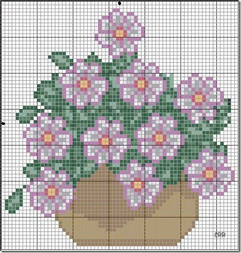 Ponto Cruz-Cross Stitch-Punto Cruz-Punto Croce-Point de Croix-287