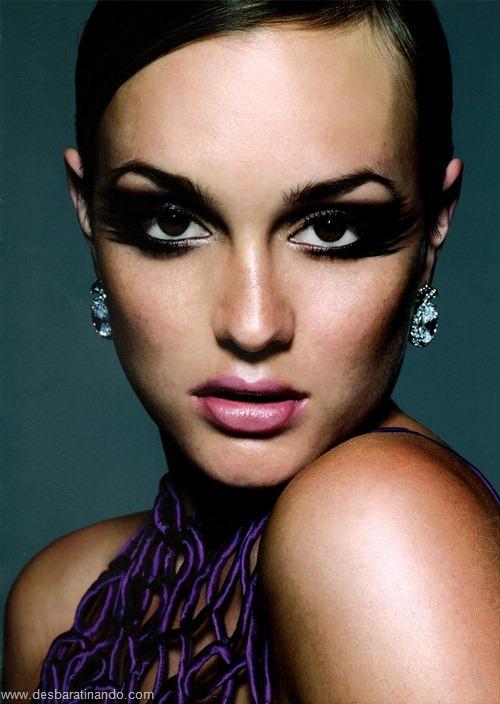 Leighton meester blair gossip girl garota do blog linda sensual desbaratinando  (160)