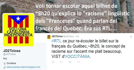 racisme lingüistic contra lo francés del Quebèc.