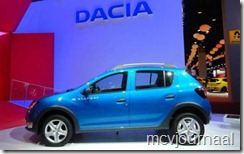 Dacia stand Parijs 2012 12