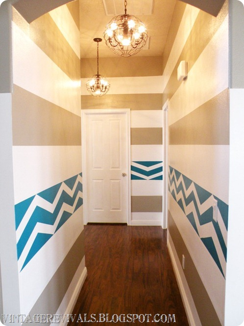 Chevron-striped-walls