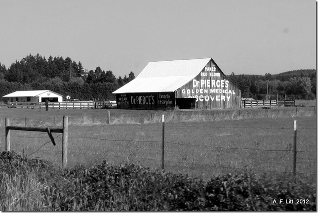 For Weak Women!  Barn.  Jackson Highway.  Washington.  August 12, 2012.  Featured: October 30, 2012.