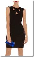 Karen Millen Cutaway Neckline Jersey Dress