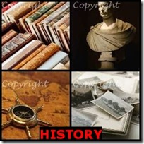 HISTORY- 4 Pics 1 Word Answers 3 Letters