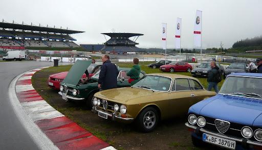 Oldtimer GP 2011 Display cars