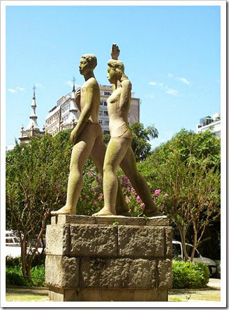 Monumento a Juventude Brasileira, Bruno Giorgi