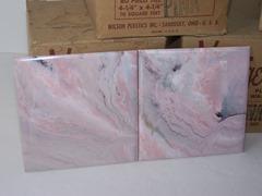 Vantage Plastics of Sandusky, Ohio pink plastic wall tile