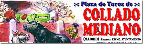 cartel de toros de Collado Mediano