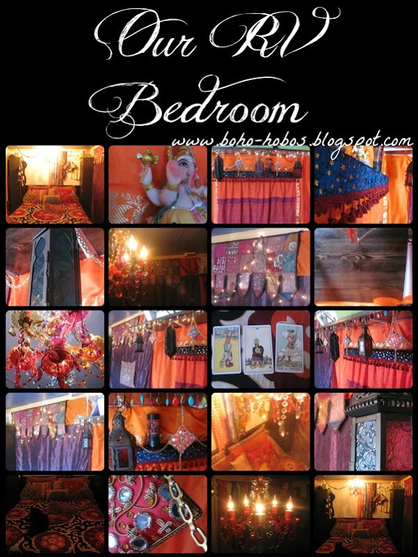 Boho Hobos website bedroom