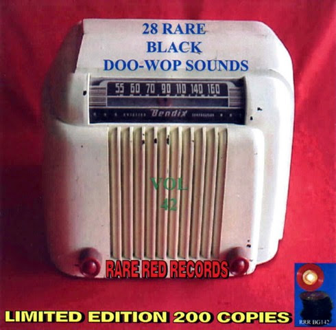 Rare Black Doo-Wop Sounds Vol. 42 - 29 - Front