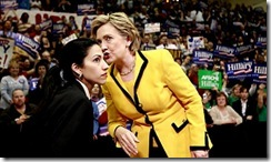 Huma Abedin &amp; Hillary Clinton